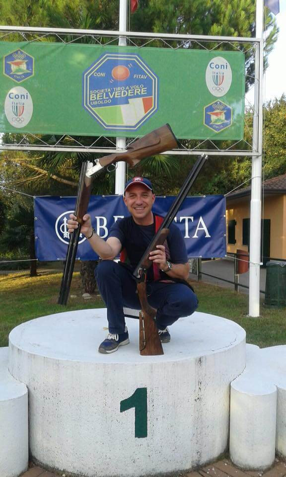 Mauro Zerbini Winner Of The 2° Beretta Marathon