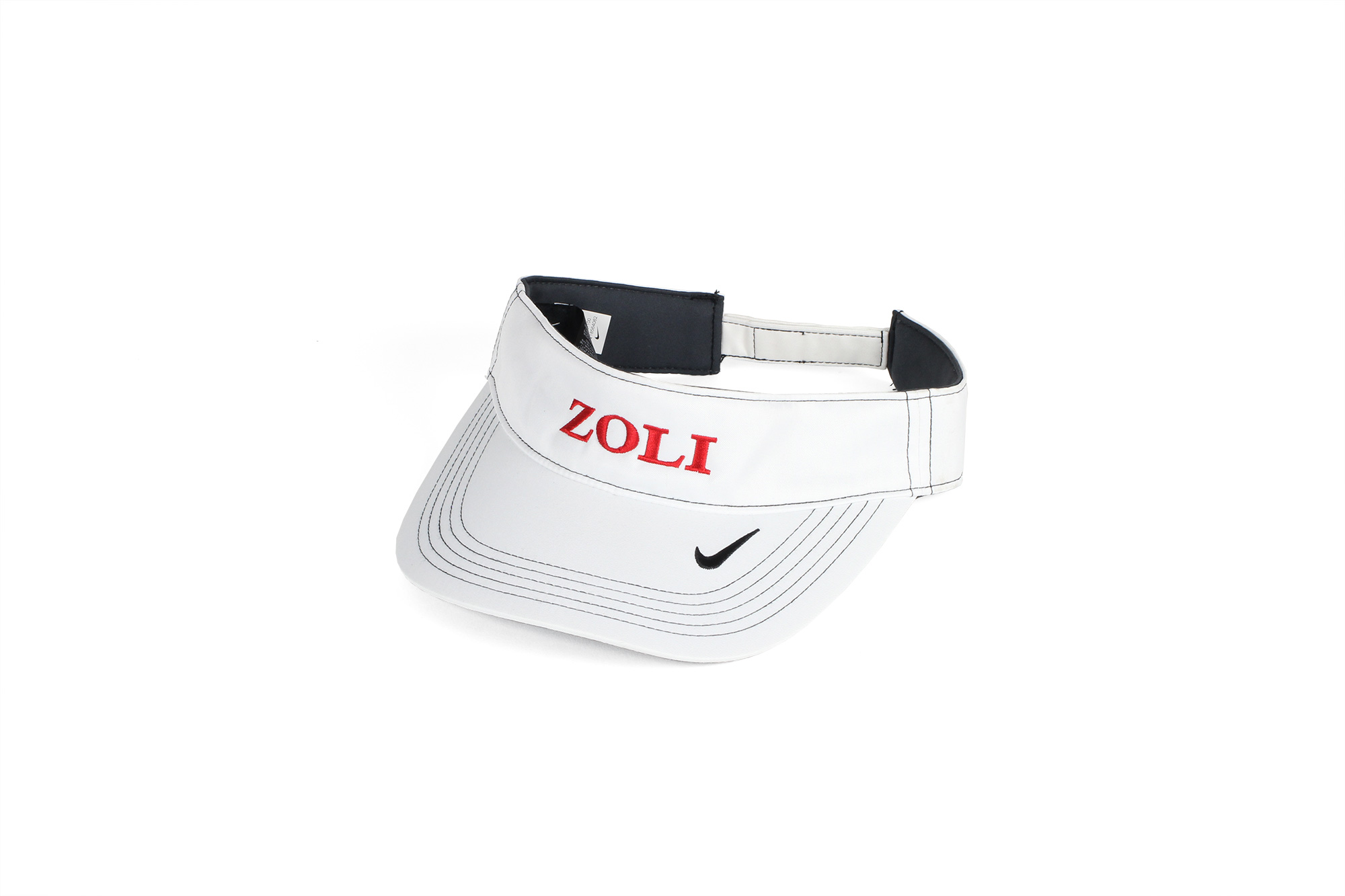 ZOLI Nike Dry Fit Embroidered Visor ( White )
