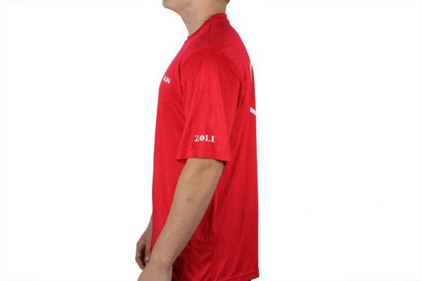 Zoli Z-GUN Red Sport Shirt Leftside