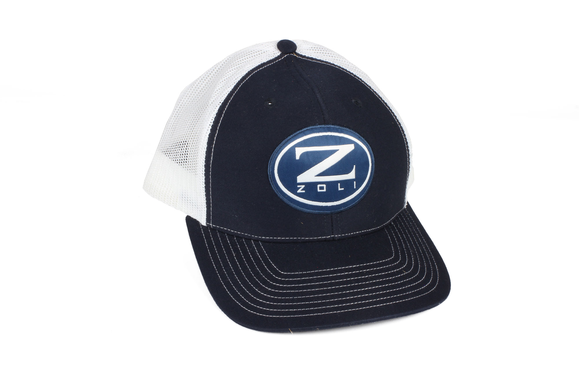 Zoli Embroidered Snap Back Hat (Navy)